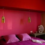 decoration chambre fushia