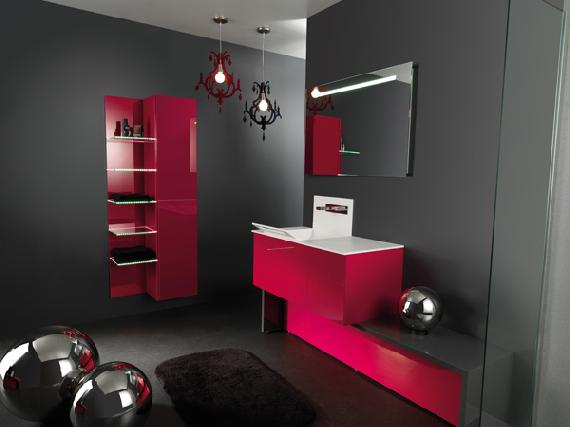 decoration chambre fushia