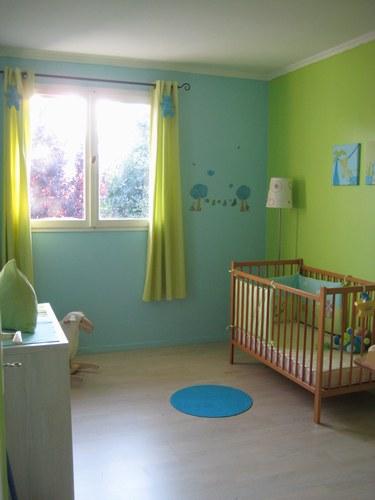 peinture chambre bb garon decoration chambre garcon an visuel - Couleur Chambre Bebe Garcon
