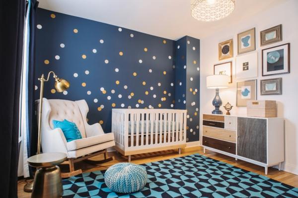 decoration chambre garcon bleu - visuel #8