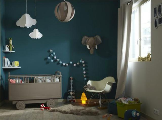 Decoration chambre garcon bleu for Decoration porte chambre garcon