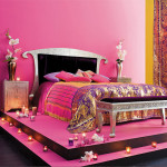 decoration chambre indienne