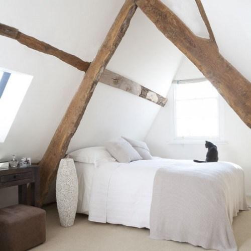 decoration chambre mansardee. Black Bedroom Furniture Sets. Home Design Ideas