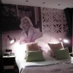 decoration chambre marilyn monroe