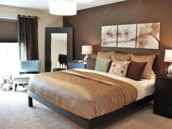 decoration chambre marron   visuel #4