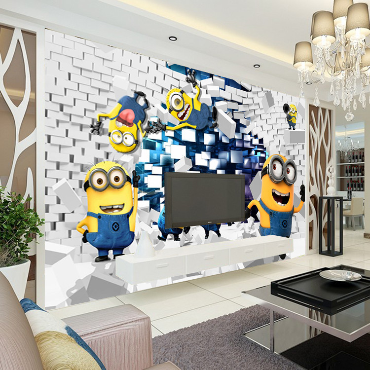 decoration chambre minions. Black Bedroom Furniture Sets. Home Design Ideas