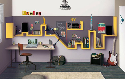 decoration chambre new york ikea. Black Bedroom Furniture Sets. Home Design Ideas
