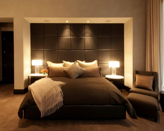 excellent chambre chambre moderne marron beige deco chambre zen bouddha zen salons and comment. Black Bedroom Furniture Sets. Home Design Ideas