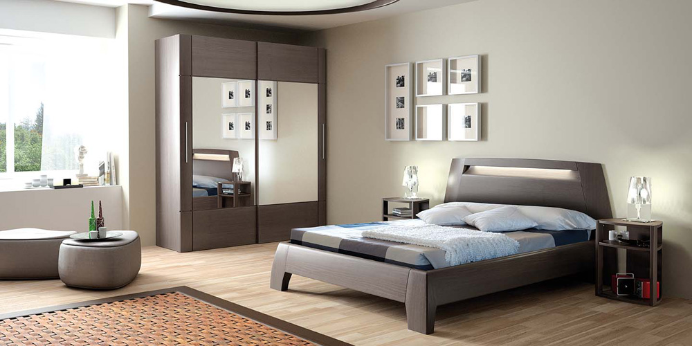 Decoration chambre principale visuel 1 for Decoration de chambre a coucher adulte