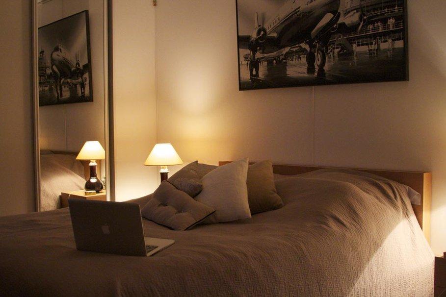 decoration chambre taupe beige - visuel #4