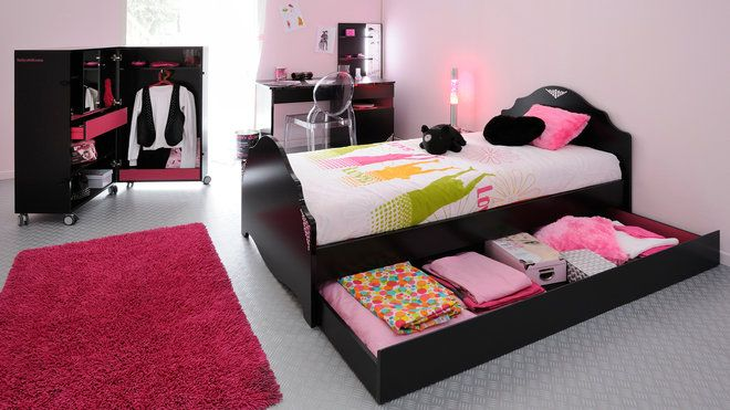 decoration de chambre a coucher pour fille visuel 5. Black Bedroom Furniture Sets. Home Design Ideas