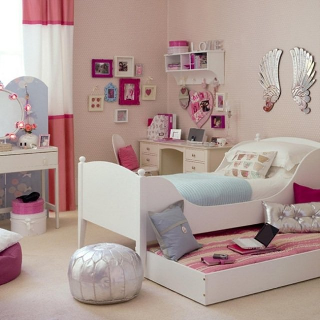 decoration de chambre a coucher pour fille - visuel #1