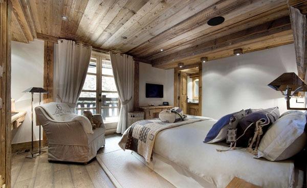 decoration de chambre a coucher rustique - visuel #4