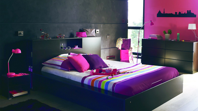 decoration de chambre jeune fille visuel 4. Black Bedroom Furniture Sets. Home Design Ideas