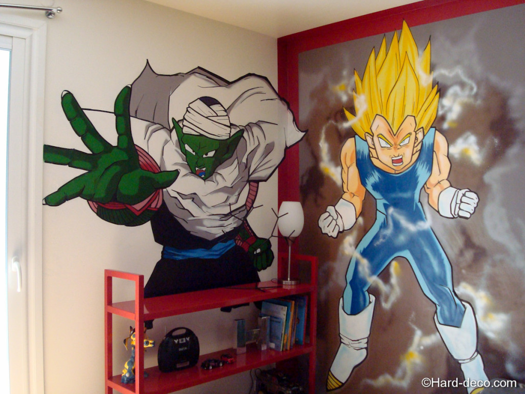 Decoration de chambre manga visuel 9 for Decoration dragon ball