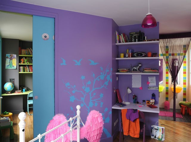 d co chambre pour fille 9 ans. Black Bedroom Furniture Sets. Home Design Ideas