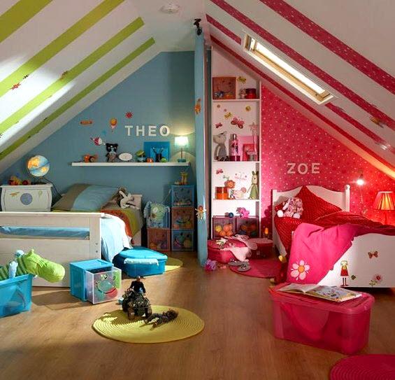 d co chambre mixte garcon fille. Black Bedroom Furniture Sets. Home Design Ideas