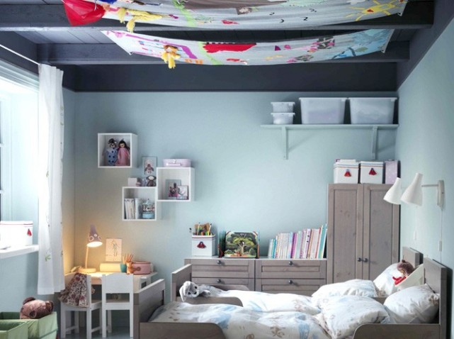 d co chambre pour fille et garcon. Black Bedroom Furniture Sets. Home Design Ideas
