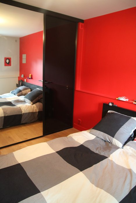 Awesome Deco Chambre Taupe Et Rouge Images - House Design ...