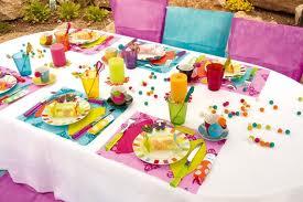 decoration table pour anniversaire bebe \u2013 visuel 1