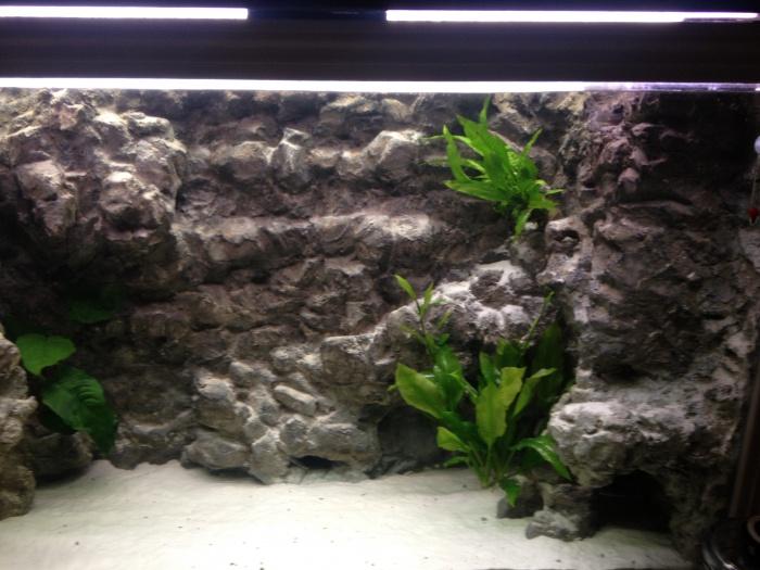 décoration aquarium en resine