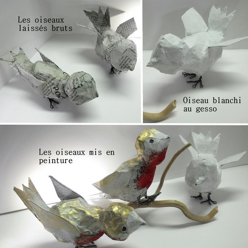 Fabriquer des oiseaux deco visuel 2 - Fabriquer un epouvantail a oiseaux ...