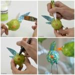 fabriquer des oiseaux deco