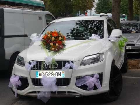 Populaire sa decoration de voiture mariage HB59