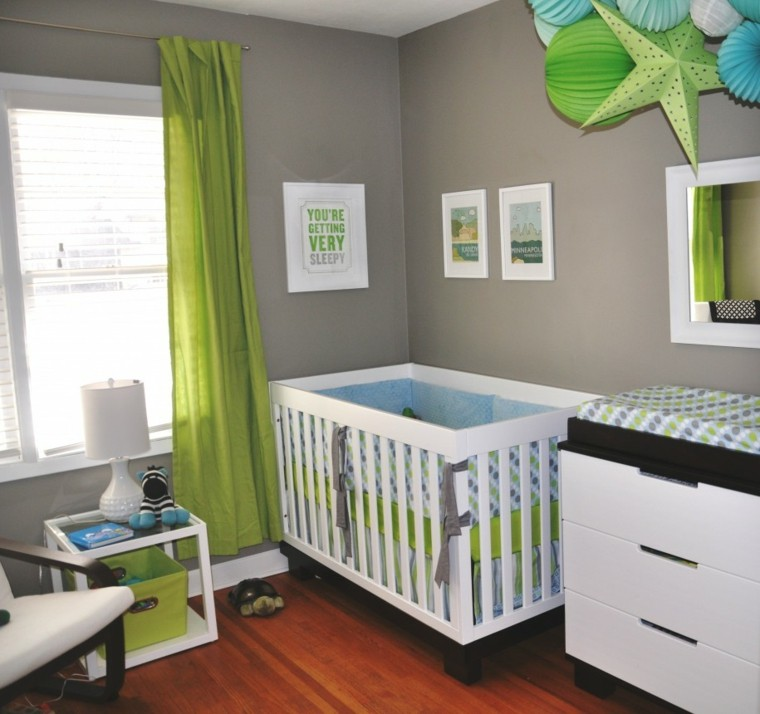 Idee deco chambre bebe garcon pas cher for Idee chambre bebe mansardee