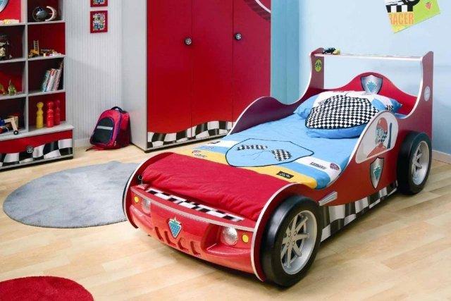 idee deco chambre garcon theme voiture - visuel #1