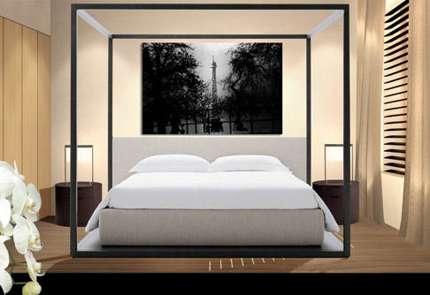 d coration chambre feng shui. Black Bedroom Furniture Sets. Home Design Ideas