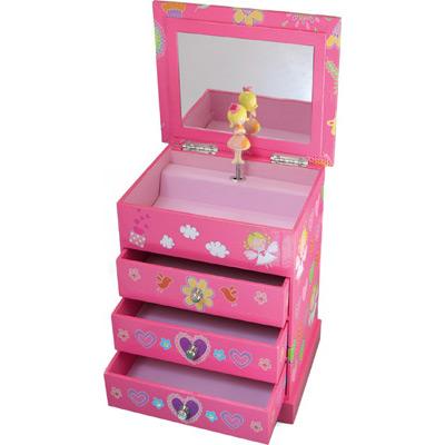 boite a bijoux en bois pour petite fille. Black Bedroom Furniture Sets. Home Design Ideas