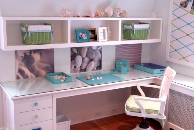 Bureau chambre fille but for Modele de chambre de fille ado