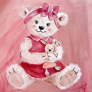 Cadre pour chambre de petite fille visuel 7 - Cadre pour chambre enfant ...