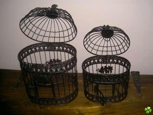 cage oiseau decorative occasion visuel 9. Black Bedroom Furniture Sets. Home Design Ideas
