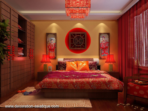chambre deco chinoise visuel 5. Black Bedroom Furniture Sets. Home Design Ideas
