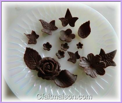 Comment faire decoration en chocolat pour gateau visuel 6 for Decoration en chocolat