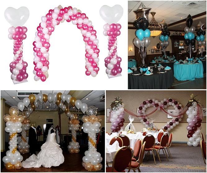 comment faire decoration mariage ballon visuel 1. Black Bedroom Furniture Sets. Home Design Ideas