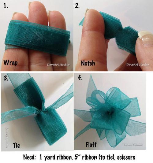 comment faire noeud decoration voiture mariage visuel 9
