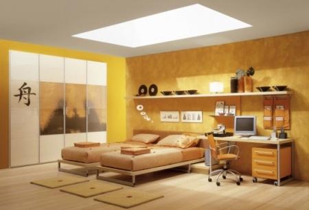 Deco chambre ado japonaise visuel 7 for Chambre japonaise deco