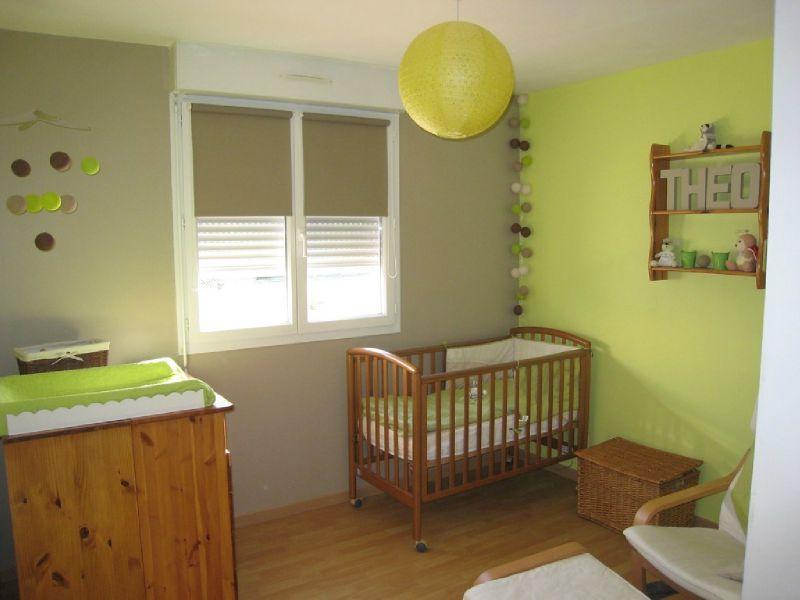 décoration chambre ado vert