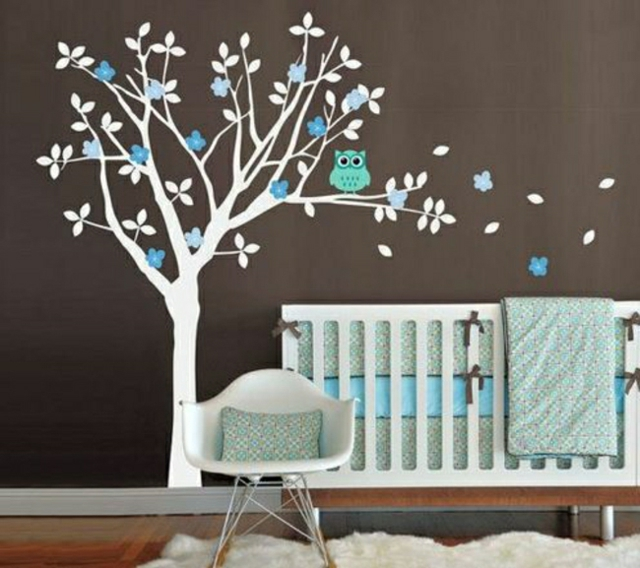 Deco chambre bebe fille stickers visuel 6 for Decoration chambre bebe fille photo