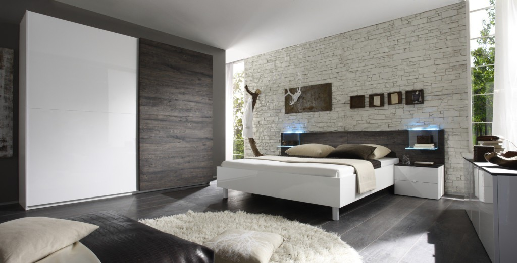 D co chambre design for Decoration chambre a coucher adulte moderne