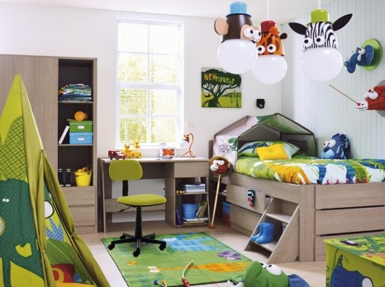 Deco chambre garcon 4 ans - Toddler bedroom ideas for small rooms ...
