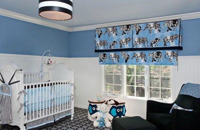 Deco Chambre Garcon Bleu Et Blanc Visuel 7