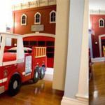 deco chambre garcon pompier