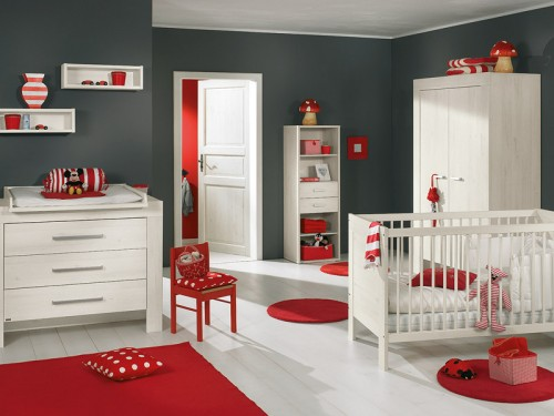 Chambre Bebe Rouge Et Blanc - Amazing Home Ideas - freetattoosdesign.us