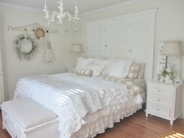 Awesome Idee Deco Chambre Romantique Ideas - Design Trends 2017 ...