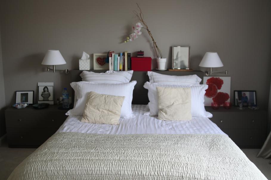 deco chambre romantique blanc - visuel #3