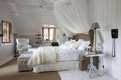 deco chambre romantique blanc - visuel #8
